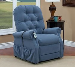 Model 2553 Wide Med Lift Luxury Lift Chair Recliner Heat