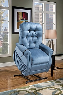 Model 2553 Wide Med Lift Luxury Lift Chair Recliner Heat