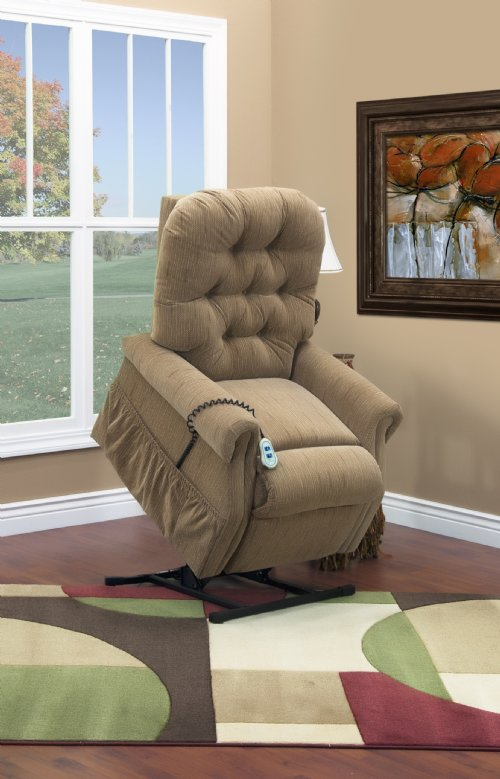 Model 2553 Med Lift Luxury Lift Chair Recliner Heat And
