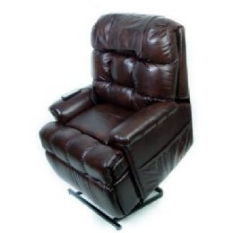 Bonded Leather Full Sleeper Petite FULLY LOADED
