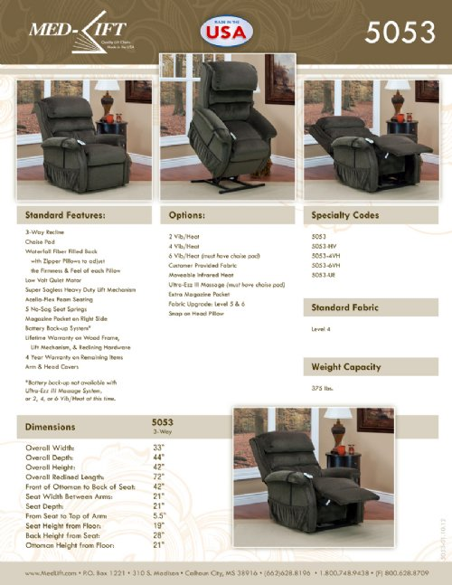Brochures Amp Swatches Liftchair Com