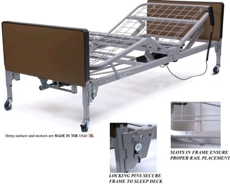 Dewert Bed Electric Lift Frame Parts
