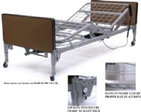 Patriot Full Electric Bed Only, Lumex