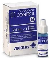 Hi / Normal Control Solution for Glucocard 01