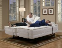 Dual King Adustable Bed, Orthopedic Latex