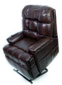 Infinite Position Full Sleeper Lift Chair w/ Memory Foam Seat