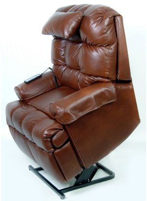 Leather Lift Chair - 100% Top Grain Leather - Liftchair.com from liftchair.com