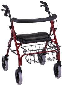 Nova Cruiser Deluxe 4-Wheel Walker