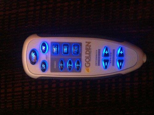 Golden Technologies 3 Zone Heat And Massage Hand Control