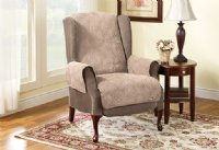 Seat & Back Protector for Lift Chair - Taupe