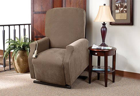 Slip Cover For Lift Chair Taupe Color