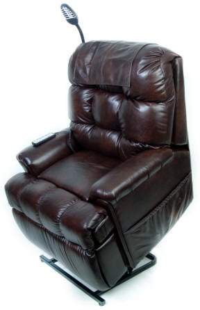 Wall Hugger Lift Chair w/ Memory Foam Seat