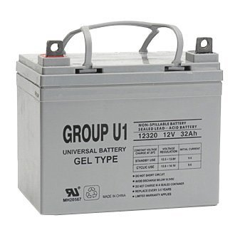 U1 Scooter Batteries Pair