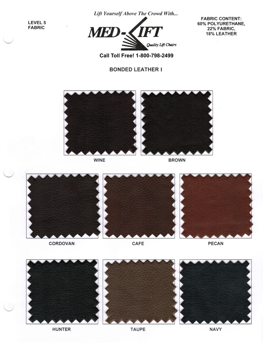 Medi Lift Chair med-lift fabric swatch cards - liftchair