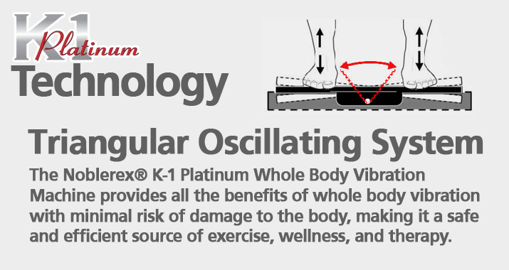 K1 Whole Body Vibration Technology - Triangle Oscillating System
