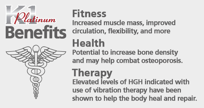 K1 Benefits - Fitness, Health, and Therapy